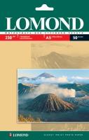 Глянцевая фотобумага Lomond для струйной печати, A5, 230 г/м2, 50 листов