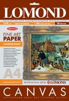 Натуральный льняной холст Lomond для пигментных чернил, А4, 320 г/м2, 10 листов