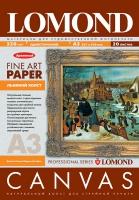 Натуральный льняной холст Lomond для пигментных чернил,  А3, 320 г/м2, 20 листов