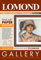 Художественная бумага Lomond Velour с бархатной фактурой, А3, 268 г/м2, 20 листов
