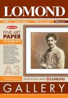 Художественная бумага Lomond Smooth, с гладкой фактурой, А3, 216 г/м2, 20 листов