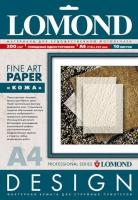 Дизайнерская бумага Lomond с тиснением «Кожа», 200 г/м2, А4, 10 листов