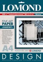 Дизайнерская бумага Lomond с тиснением «Лабиринт», 200 г/м2, А4, 10 листов