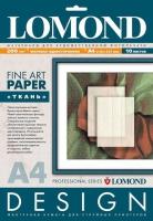 Дизайнерская бумага Lomond с тиснением «Ткань», 200 г/м2, А4, 10 листов