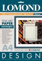 Дизайнерская бумага Lomond с тиснением «Шотландка», 200 г/м2, А4, 10 листов