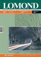 Двусторонняя Матовая/Матовая фотобумага Lomond для струйной печати, A4, 130 г/м2, 25 листов