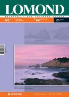 Двусторонняя Матовая/Матовая фотобумага Lomond для струйной печати, A4, 170 г/м2, 25 листов