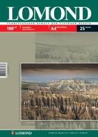 Двусторонняя Матовая/Матовая фотобумага Lomond для струйной печати, A4, 190 г/м2, 25 листов