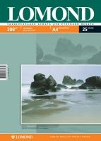 Двусторонняя Матовая/Матовая фотобумага Lomond для струйной печати, A4, 200 г/м2, 25 листов