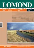 Двусторонняя Матовая/Матовая фотобумага Lomond для струйной печати, A4, 100 г/м2, 25 листов