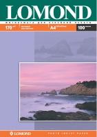 Двусторонняя Матовая/Матовая фотобумага Lomond для струйной печати, A4, 170 г/м2, 100 листов