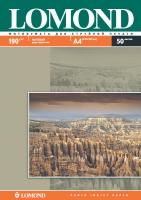 Двусторонняя Матовая/Матовая фотобумага Lomond для струйной печати, A4, 190 г/м2, 50 листов