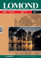 Глянцевая фотобумага Lomond для струйной печати, А4, 120 г/м2, 25 листов
