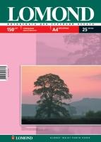 Глянцевая фотобумага Lomond для струйной печати, А4, 150 г/м2, 25 листов