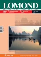 Двусторонняя Глянцевая/Матовая фотобумага Lomond для струйной печати, A4, 180 г/м2, 25 листов