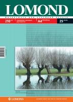 Двусторонняя Глянцевая/Матовая фотобумага Lomond для струйной печати, A4, 210 г/м2, 25 листов