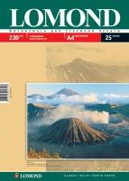 Глянцевая фотобумага Lomond для струйной печати, А4, 230 г/м2, 25 листов