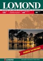 Глянцевая фотобумага Lomond для струйной печати, А4, 120 г/м2, 50 листов