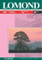 Глянцевая фотобумага Lomond для струйной печати, А4, 150 г/м2, 50 листов