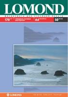 Двусторонняя Глянцевая/Матовая фотобумага Lomond для струйной печати, A4, 170 г/м2, 50 листов