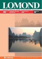 Двусторонняя Глянцевая/Матовая фотобумага Lomond для струйной печати, A4, 180 г/м2, 50 листов