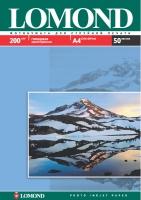 Глянцевая фотобумага Lomond для струйной печати, А4, 200 г/м2, 50 листов
