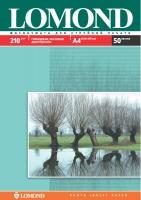 Двусторонняя Глянцевая/Матовая фотобумага Lomond для струйной печати, A4, 210 г/м2, 50 листов