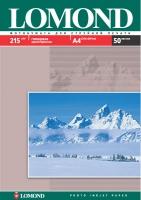Глянцевая фотобумага Lomond для струйной печати, А4, 215 г/м2, 50 листов