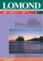 Двухсторонняя Глянцевая/Матовая фотобумага Lomond для струйной печати, А4, 220 г/м2, 50 листов