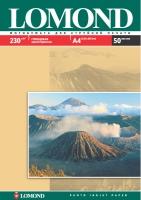 Глянцевая фотобумага Lomond для струйной печати, А4, 230 г/м2, 50 листов