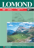Глянцевая фотобумага Lomond для струйной печати, А3, 140 г/м2, 50 листов