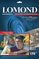 Атласная фотобумага  Lomond для струйной печати, А4, 170 г/м2, 20 листов