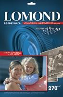 Атласная фотобумага Lomond для струйной печати, А4, 270 г/м2, 20 листов