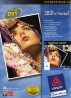 Глянцевая фотобумага Avery для струйной печати, А4, 260 г/м2, 30 листов