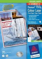 Глянцевая фотобумага Avery для лазерной печати, А4, 150 г/м2, 100 листов