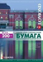 Двусторонняя шелковистая фотобумага Lomond для лазерной печати, А4, 200 г/м2, 250 листов