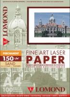 Арт-бумага Lomond «Пергамент» для лазерной печати, А4, 150 г/м2, 100 листов, песочный цвет