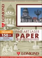 Арт-бумага Lomond «Пергамент» для лазерной печати, А4, 150 г/м2, 100 листов, цвет серебро